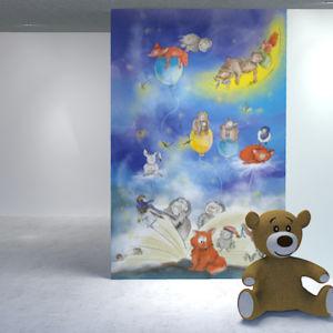 Kinderzimmer Tapete
