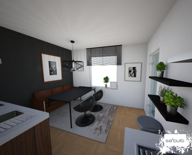 Kleine Wohnung platzsparend einrichten
